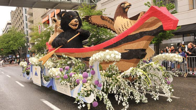 Rose Parade Portland