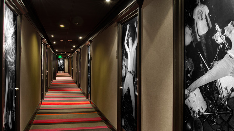 hallway at Hotel Max