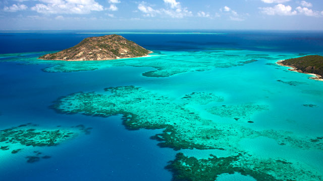 Great Barrier Reef in Australia near Lizard Island