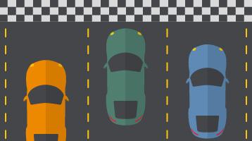 cars depicting asset performance