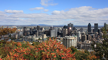 Montreal city view